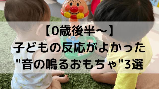 """子どもの反応がよかった""""音の鳴るおもちゃ""""3選"""